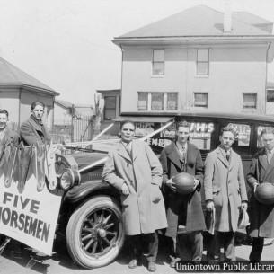 1925 Basketball Team - Uniontown